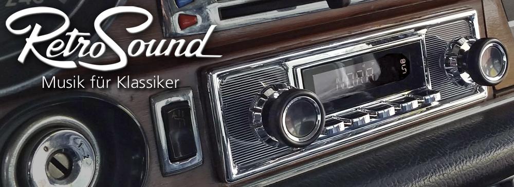 Ein Retroradio von Automedia Karlsruhe in Ihrem Oldtimer