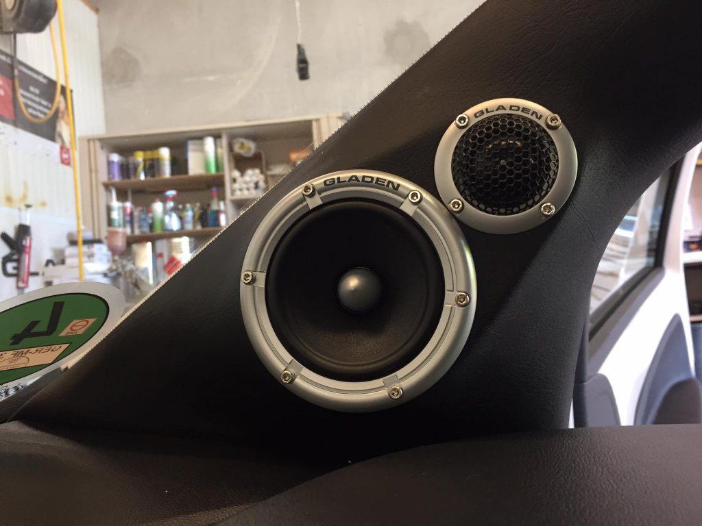 fertige Lautsprecheraufnahme