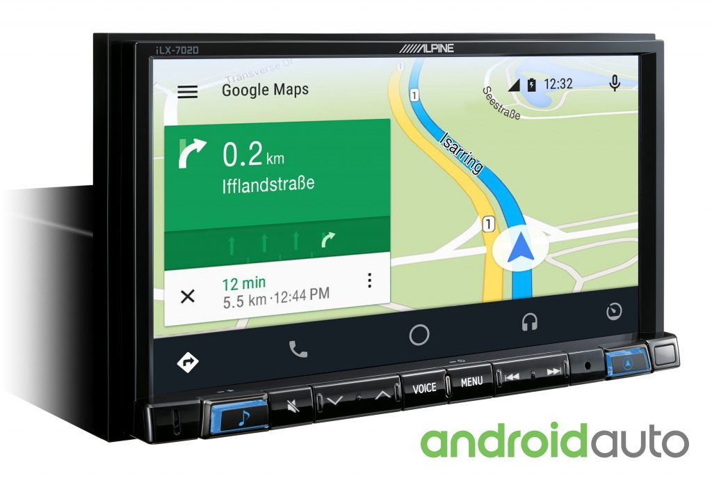 Alpine iLX-702D Android_Map