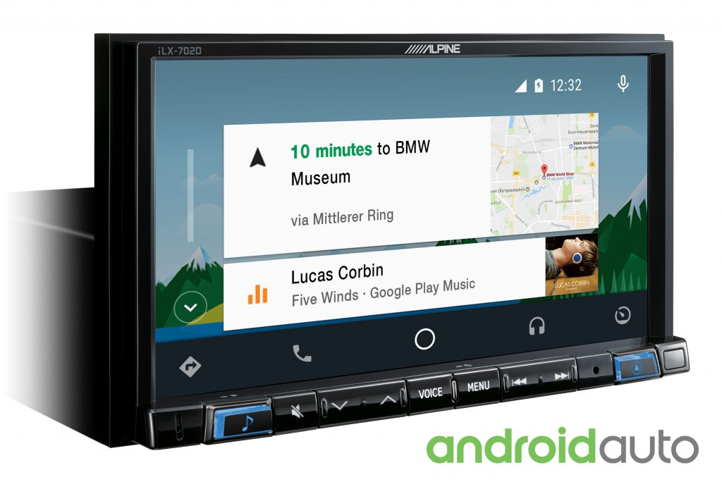 Alpine iLX-702D Android Auto
