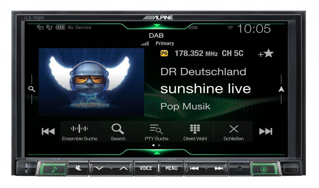 Alpine DAB+ Radio